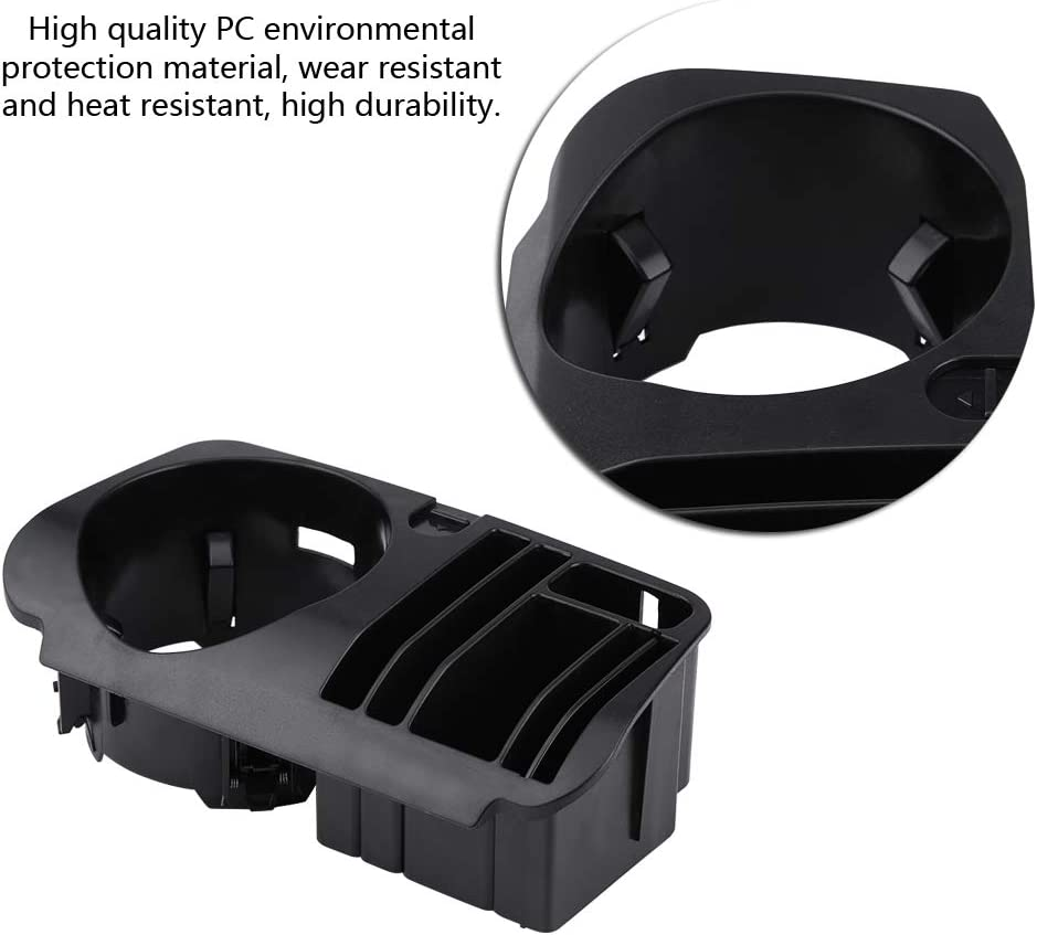 support de tasse central en plastique ABS pour la classe C W205 GLC classe X253 E classe W213 Yctze Support de tasse central de voiture de stockage