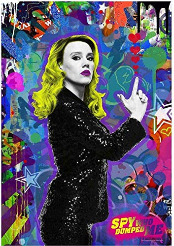 burning desire poster Rare Poster Kate McKinnon The SPY WHO Dumped ME 12x18