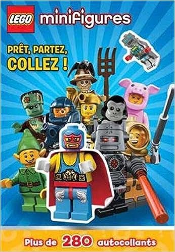 Livre gratuits en ligne Lego Minifigures - prêt, partez, collez ! : Plus de 280 autocollants pdf