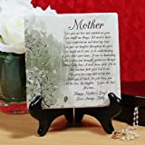 "Personalized Mom Poem Tumbled Stone Plaque, 6"" x Review and Comparison"