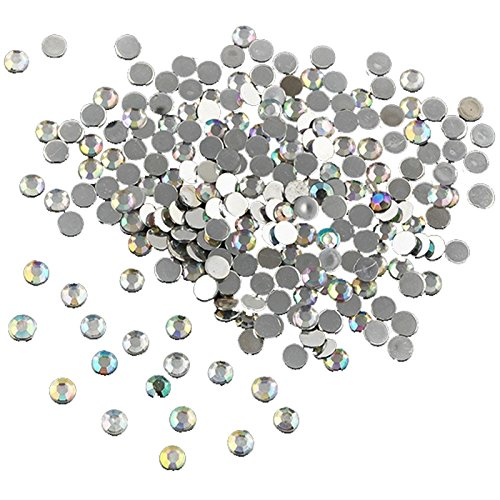Mirror Facet Round Bead - Round Rhinestone - TOOGOO(R)1000Pcs Nail Art Fashion Flatback Crystal AB Resin Women Jewelry Round Rhinestone 14 Facets Beads 4mm Gift