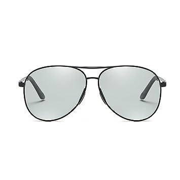 NUBAO Cambio De Color Gafas De Sol Hombres Y Mujeres Gafas De Sol UV Día Y