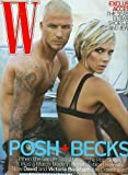 W Magazine August 2007 - David Beckham and Victoria (Posh) Beckham