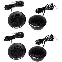 4) Rockford Fosgate R1T-S 1 160 Watts Component Car Audio Tweeters System Kit