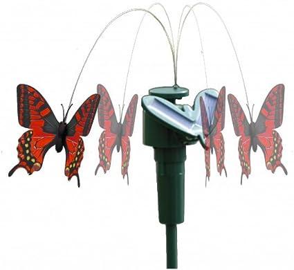 Schön Flatternd Fliegend Schmetterling Solar-Betrieben Terrasse im Freien