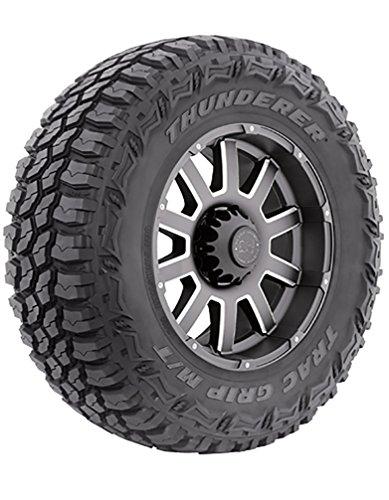 Thunderer Trac Grip M/T R408 All-Terrain Radial Tire - 275/70R18 125Q (295 75 18 All Terrain Tires)