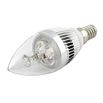 Lot De 12 Ampoules Led E14 Forme Bougie Led Forte Puissance Blanc