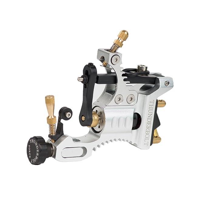 Thunderbolt fuerza Rotary tatuaje máquina Pistola, Plateado, 1 ...