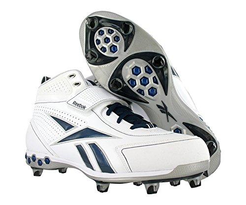 Hex Reebok White Men's D Pro Football Shoes Thorpe III navy atx1wnPtq