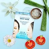 Ebanel 15 Pack Collagen Face Mask, Instant