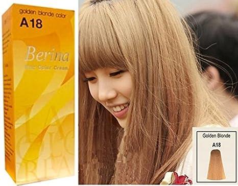 Amazon Permanent Hair Dye Color Cream Berina Hair Color Cream