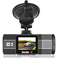 Oasser Car Dash Cam Dashboard Camera Recorder Dash Cam with G-Sensor 170°Angle Night Version Loop Recording Mute Function FHD 1920x1080P
