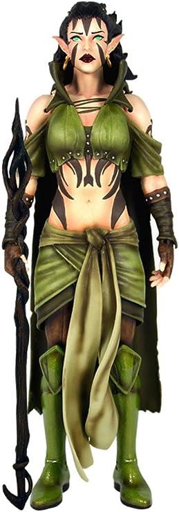 by Mega Chibi Nissa Revane cosplay leggings inspired by MTG magic the Gathering