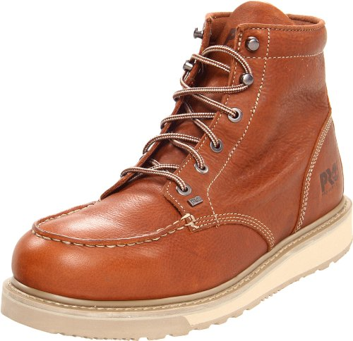 Image of the Timberland PRO Men's Barstow Wedge Work Boot,Brown,8 M US