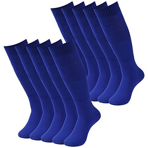 Sports Team Socks, Diwollsam 2/6/10 Pairs Men's Athletic Knee High Football Soccer Socks – DiZiSports Store