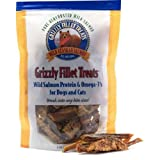 Grizzly Salmon Fillet Treats for Dogs and Cats (3 oz), My Pet Supplies