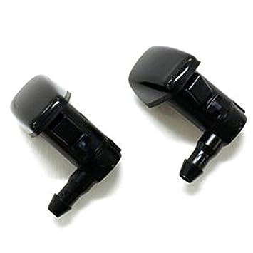 Ford limpiaparabrisas limpiaparabrisas agua boquilla de pulverización para 2008 - 2012 Ford Fusion Milan MKZ 2pcs: Amazon.es: Coche y moto