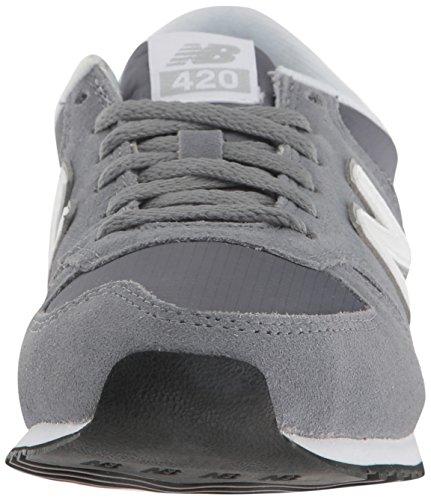 Balance 420 New Et Mink Buty silver white Gunmetal on Slip Femme Basses 6qqSdxEw