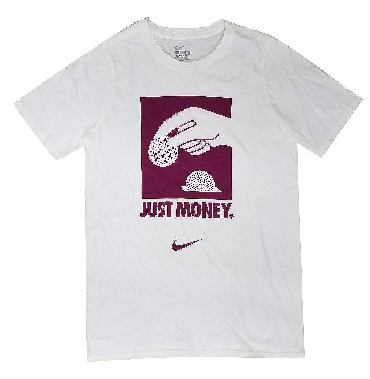 Amazon.com: Nike Boy's Just Money Graphic Crew Neck T-Shirt ...