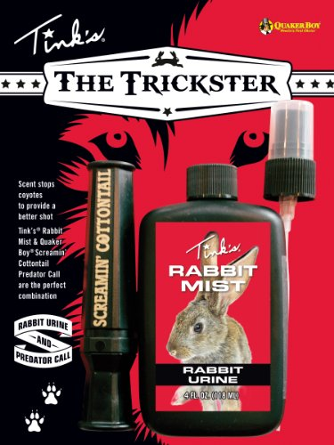 - Tink's The Trickster Rabbit Mist and Quaker Boy Screamin' Cottontail Call Combo