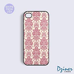 Case Cover For SamSung Galaxy S5 model - Pink Damask