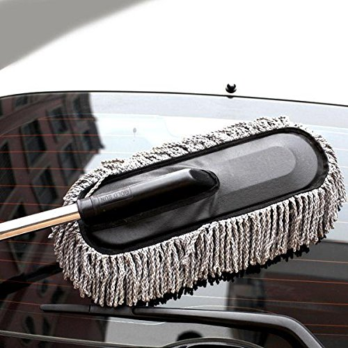 From Usa Telescopic Car And Home Cleaning Duster Brush By Janazala Including Microfiber Towel
