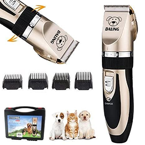 Cortapelos Profesional para animales (Perros, Gato) de cerámica, afeitadora,