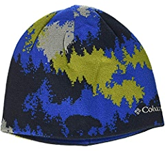 4813149c980af1 Columbia Kid's Toddler/Youth Urbanization Mix Beanie Hats, Black Geo Lines,  Small/Medium: Amazon.co.uk: Sports & Outdoors