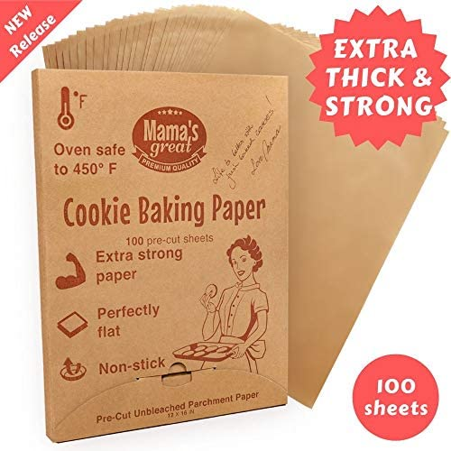 Unbleached Parchment Sheets Silicone Baking product image
