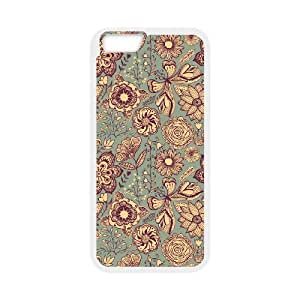"""FLYBAI Painted Flower Phone Case For iPhone 6 (4.7"""") [Pattern-4]"""