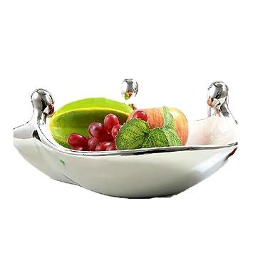 ZWZT Obst Schale Schüssel Salat Herzstück Moderner Minimalistischer Tisch  Obstschale