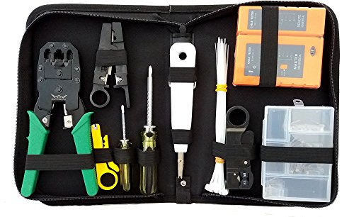 Aimtech 12 in 1 Professional Network Computer Maintenance Repair Tools Kit(AIMT1401)