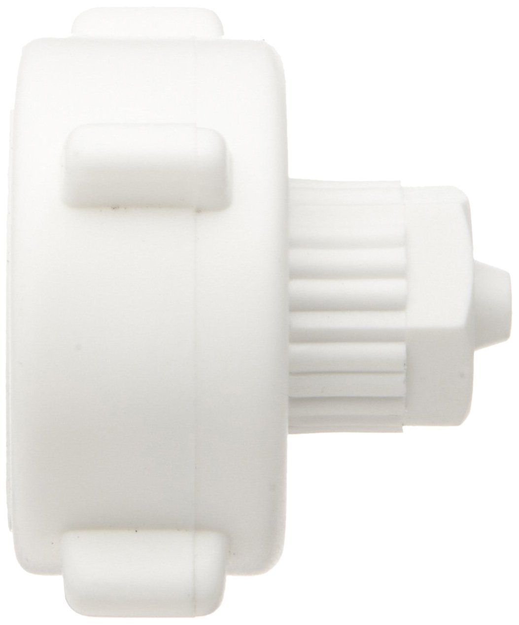Pack of 5 Adapter Tefen Fiberglass Polypropylene Compression Tube Fitting 6 mm Tube OD x 3//4 BSPT Female White
