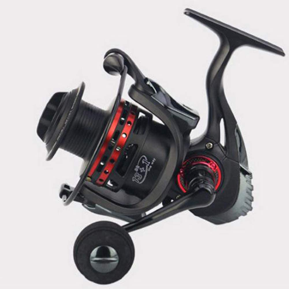 Alician 13+1BB axis Curved Metal Wire Cup and CNC Rocker Arm Spinning Wheel Reel Fishing Equipment Price