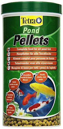 Tetra Pond Pellets (Hauptfutter in Form schwimmfähiger Pellets, für die Ernährung aller Teichfische), 4 Liter Dose