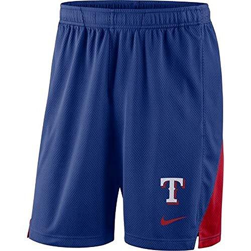 (Nike Texas Rangers Franchise Performance Shorts (Large))