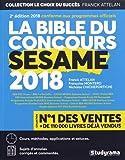 La bible du concours Sésame 2018