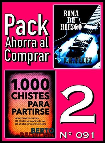 Pack Ahorra al Comprar 2 (Nº 091): 1000 Chistes para partirse & Rima