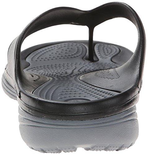 CROCS - Sandal MODI 2.0 FLIP - black charcoal Schwarz (Black/Charcoal)
