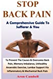 Stop Back Pain: A Comprehensive Guide To Sufferer And You (Fundamental Causes & Their Symptom) (Volume 1)