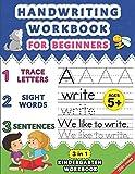 Handwriting Workbook for Beginners: Kindergarten