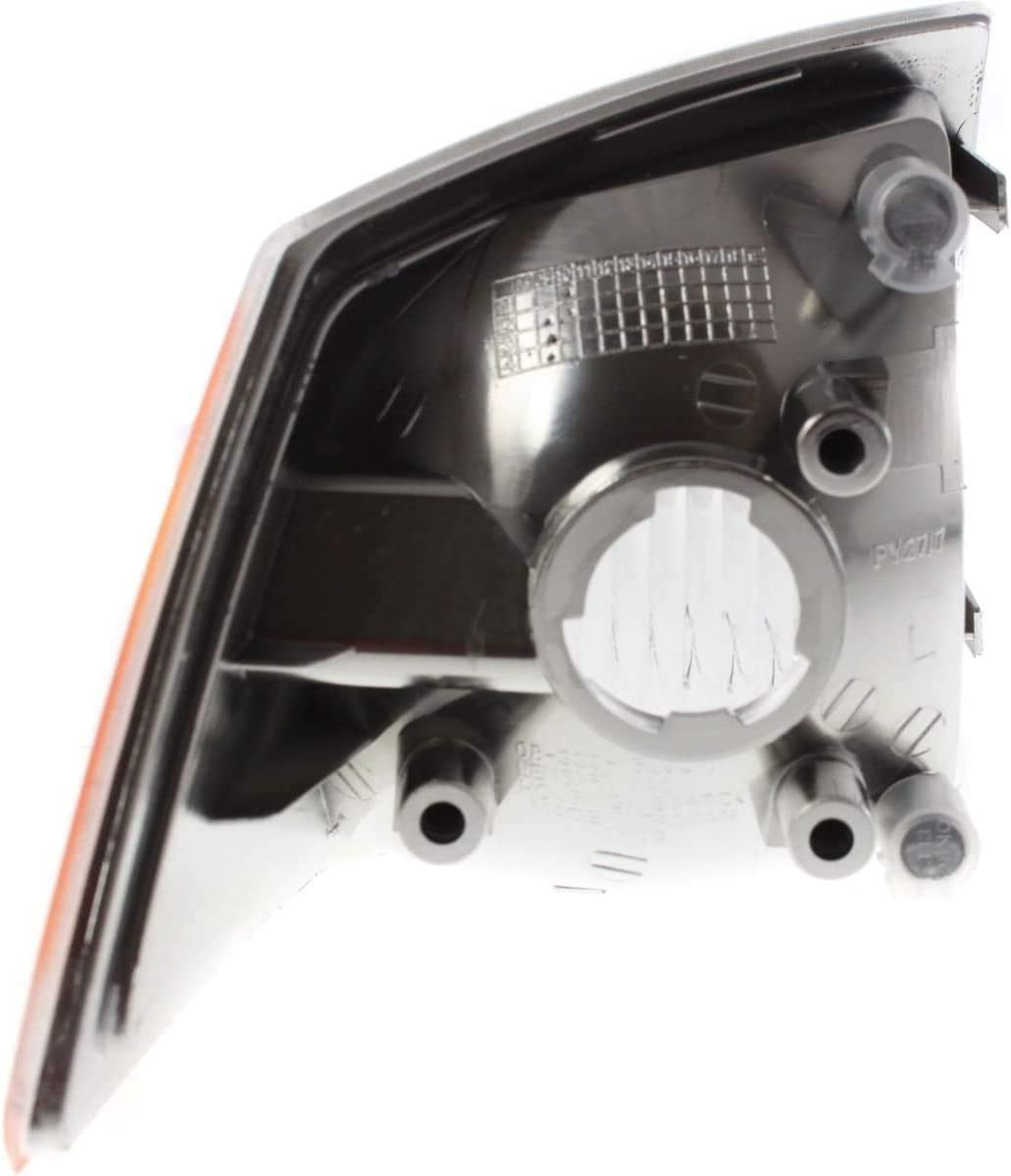 I-Match Auto Parts Driver Signal Parking Light Assembly Lens and Housing Replacement for 2007-2010 Jeep Compass MK CH2520144 68000683AB
