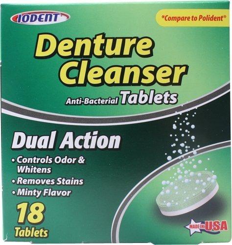 Denture Cleaner Tablets Bulk Case of 24, 480 Tablets