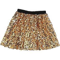 Mini Sequin Skirt