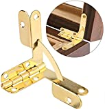 20pcs 90° Mortise Spring Hinge Angle Support