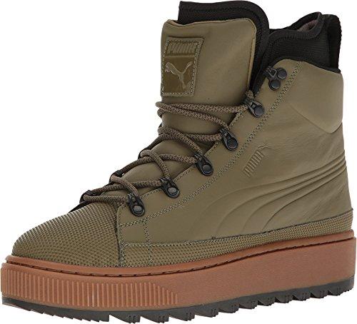 PUMA Men's The Ren Boot Burnt Olive/Puma Black Athletic Shoe