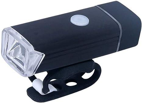 WYFDM Luz De Bicicleta Recargable USB, 180 Lúmenes Luces De ...