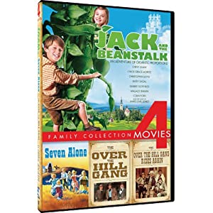 Jack and the Beanstalk/Over the Hill Gang/Over the Hill Gang Rides Again/Seven Alone - 4-pack