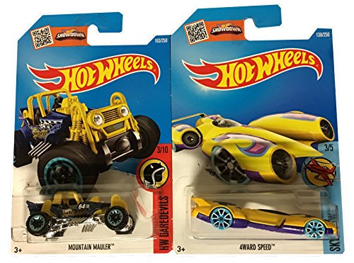 hot-wheels-2016-treasure-hunt-set-mountain-mauler-163-4ward-speed-138-2-car-bundle