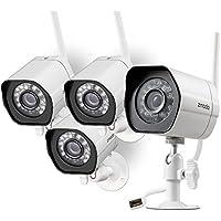 4-Pk. Zmodo Smart WiFi IP Security Camera System